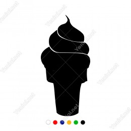 Külahta Dondurma Şöleni Duvar Sticker