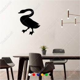 Sola Doğru İlerleyen Çirkin Ördek 50x60 cm Duvar Sticker