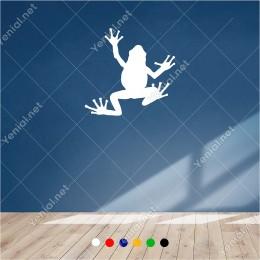 Yukarıya Doğru Giden Kurbağa Yavrusu 60x60 cm Duvar Sticker