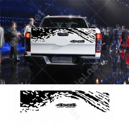 4x4 Off Road Araba Çamur Efekti Arka Kapı İçin Sticker
