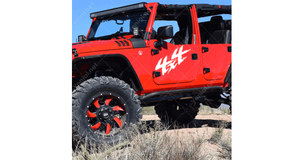 4X4 Off Road >> 4x4 Off Road Arca Oto Jeep Sticker Yapistirma
