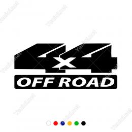 4x4 Off Road Yazısı Bold Sticker Yapıştırma