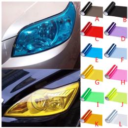 Araç Farı İçin Şeffaf ve  Her Renk Opak Folyo Sticker
