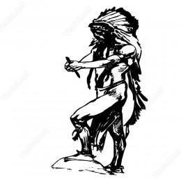 Kızılderili Siticker