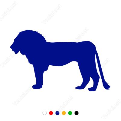 Aslan Sticker Yapıştırma