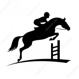At Yarış Pisti Siticker