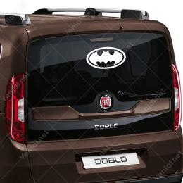 Batman Simge Sticker Yapıştırma