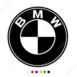 BMW Logosu Sticker Araç ve Duvar Yapıştırma
