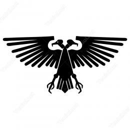 Çift Başlı Kartal Logo Stickeri