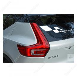 Dacia Sport Kareler Araç Stickeri