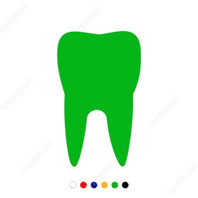 Diş Sticker Yapıştırma