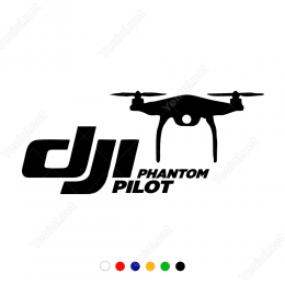 Dji Phantom Pilot Drone Sticker Yapıştırma