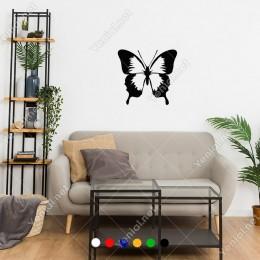 Dolap ve Duvar İçin Oluşturulmuş Kelebek Sticker