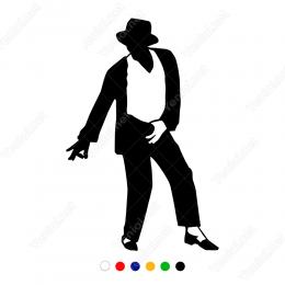 Efsane Ölümsüz Michael Jackson Sticker Yapıştırma