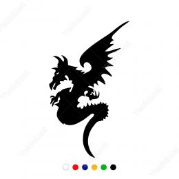 Ejdarha Şeytan Sticker Yapıştırma