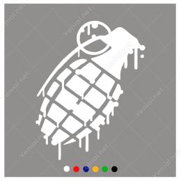 El Bombası Sticker Yapıştırma
