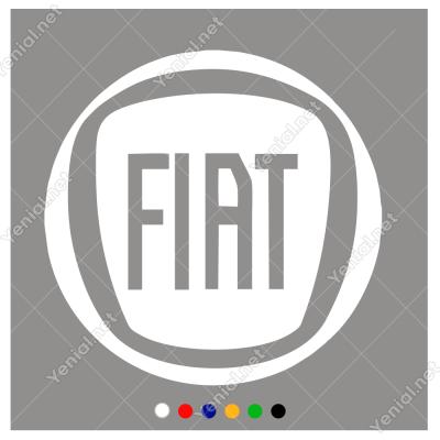 Fiat Logosu  Sticker Yapıştırma