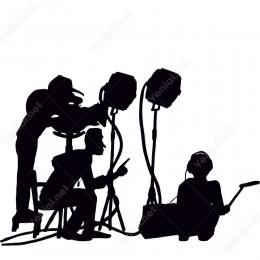 Film Çekimi Yönetmen Siticker