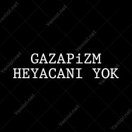 Gazapizm Heyacanı Yok Yapıştırma Etiket