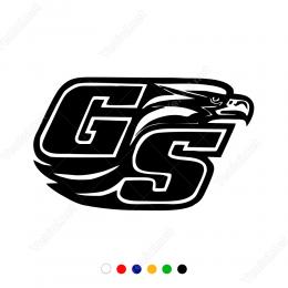 GS Yazısı Ve Kartal Başı Sticker Yapıştırma
