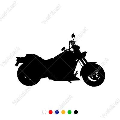Harley Davidson Klasik Motor Sticker