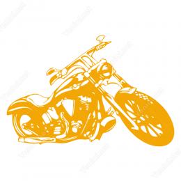 Harley Davidson Logo Sticker Yapıştırma