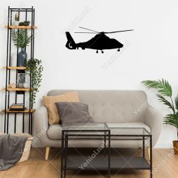 Helikopter Sticker Yapıştırma