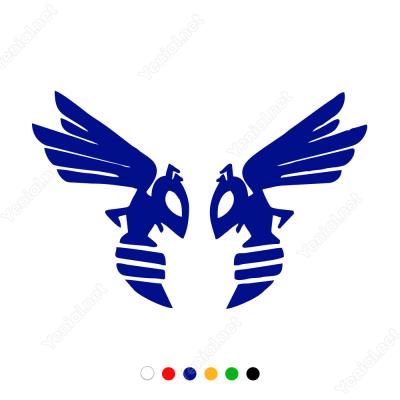 Honda Hornet Logo Sticker Yapıştırma