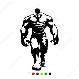 Hulk Yeşil Dev Adam Sticker Yapıştırma