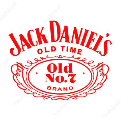 Jack Daniels Logo Sticker Yapıştırma