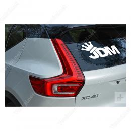 Jdm Kral Tacı Sticker Etiket Çıkartma