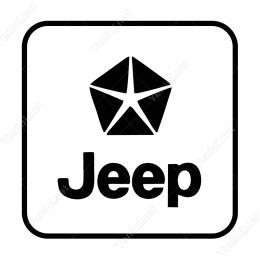 Jeep Araç Logosu Sticker Yapıştırma