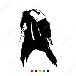 Johnny Depp Jack Parov Potresi Sticker Yapıştırma