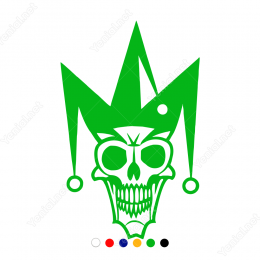 Joker Kuru Kafa Sticker Yapıştırma