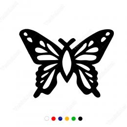 Kelebek ve Kanat Sticker Etiket Yapıştırma
