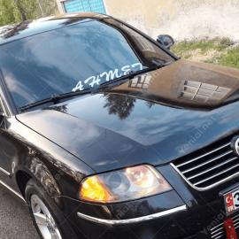 Kişiye Özel İsim Seçenekli Araba Sticker, Oto Çıkartma Yapıştırma
