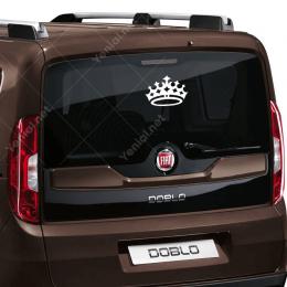 Kral Tacı 5 Yıldızlı Sticker Etiket Yapıştırma