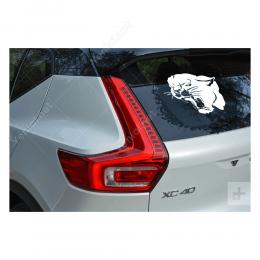Kükreyen Sert Görünümlü Jaguar Sticker Yapıştırma