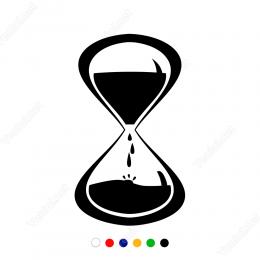 Kum Saati Sticker Yapıştırma