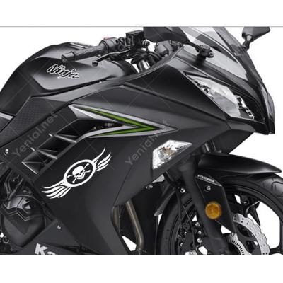 Kuru Kafa Motorsiklet Sticker Çıkartma