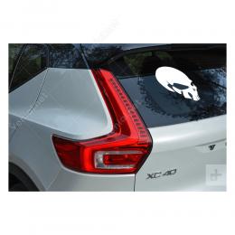 Kuru Kafa (Punisher Sticker Decal) Sticker Yapıştırma
