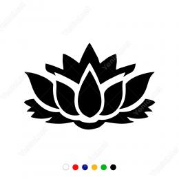 Lotus Çiçeği Yoga Çiçeği Sticker Yapıştırma