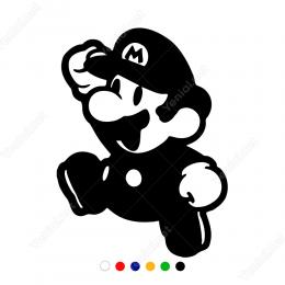 Marıo Oyun Karekteri Sticker Yapıştırma