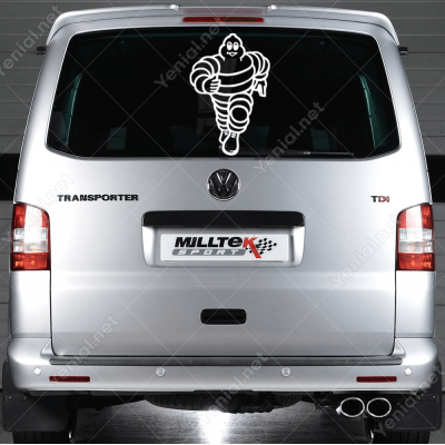 Michelin Lastik Logo Sticker Yapıştırma