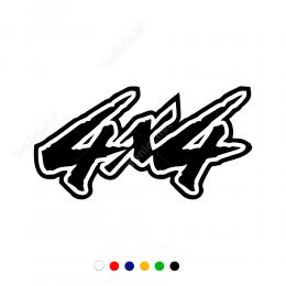 Off Road 4X4 Oto Sticker Yapıştırma