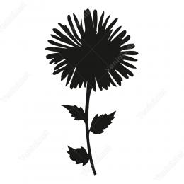 Papatya Çiçek Skicker Yapıştırma