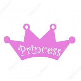 Pembe Taç Siticker(Princes)