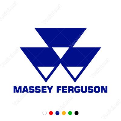 Massey Ferguson Logo Sticker Yapıştırma