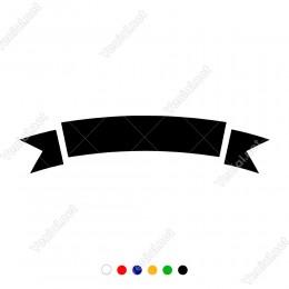 Süslemeler İçin Kullanılabilinir Kurdela Sticker