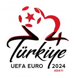 Türkiye Uefa Euro 2024 Sticker Yapıştırma